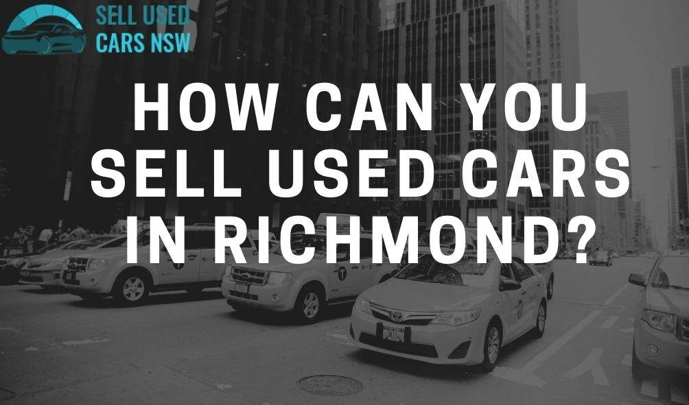 How can you sell used cars in Richmond?