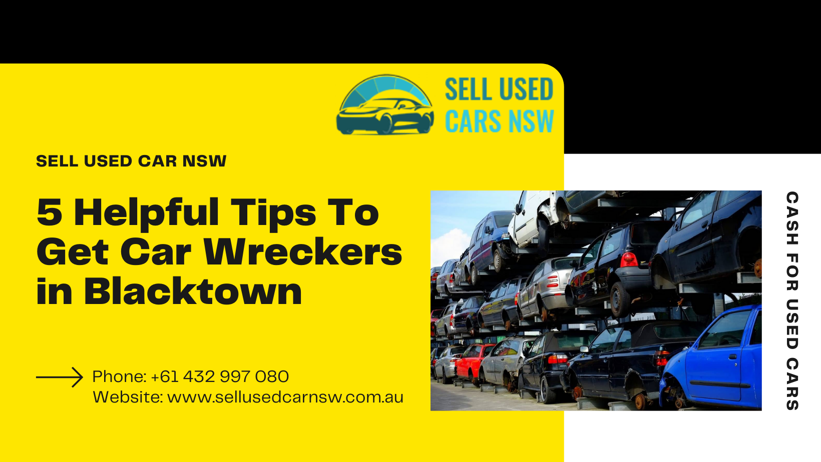 5 Helpful Tips To Get Car Wreckers in Blacktown