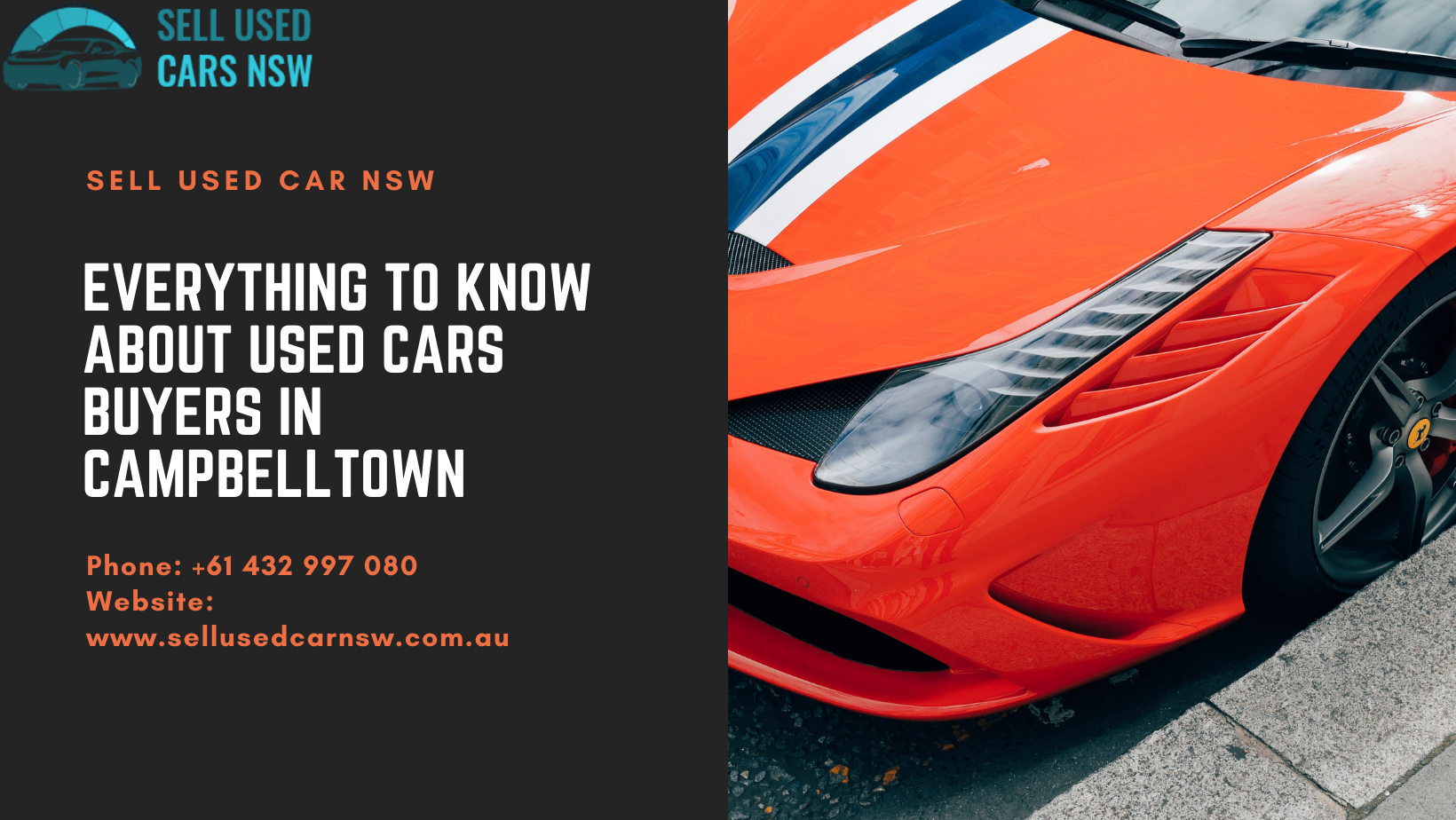 Everything To Know About Used Cars Buyers in Campbelltown