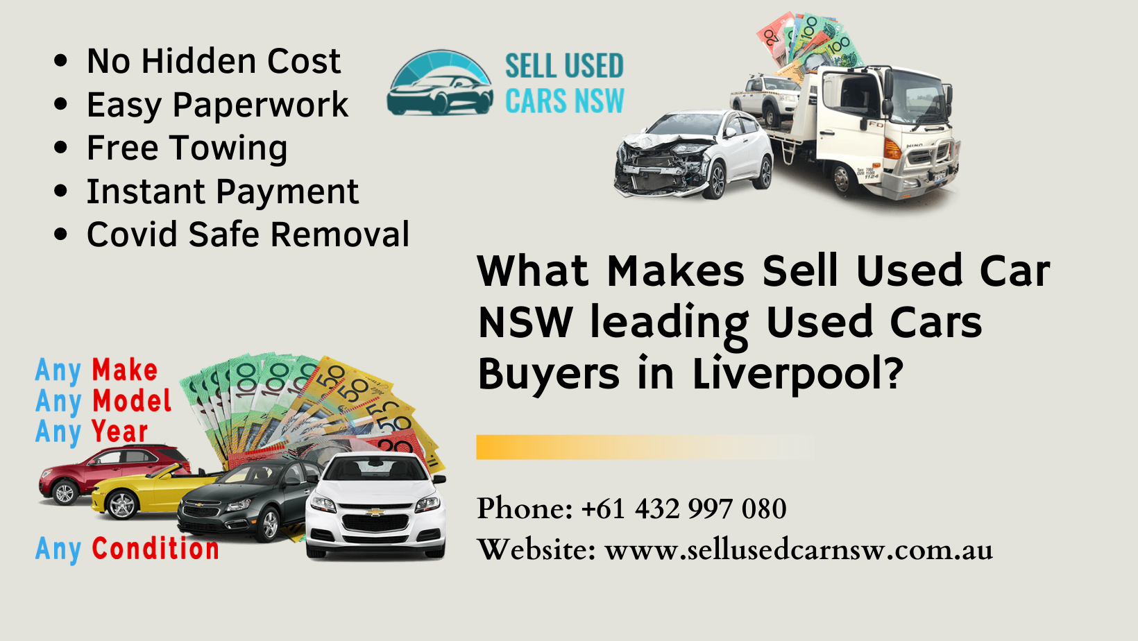 What Makes Sell Used Car NSW leading Used Cars Buyers in Liverpool?