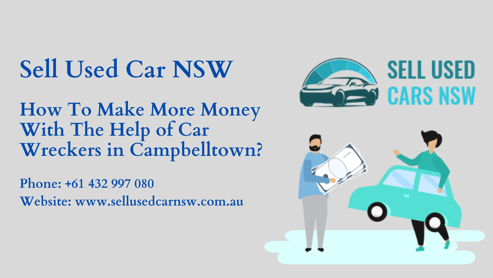How To Make More Money With The Help of Car Wreckers in Campbelltown?
