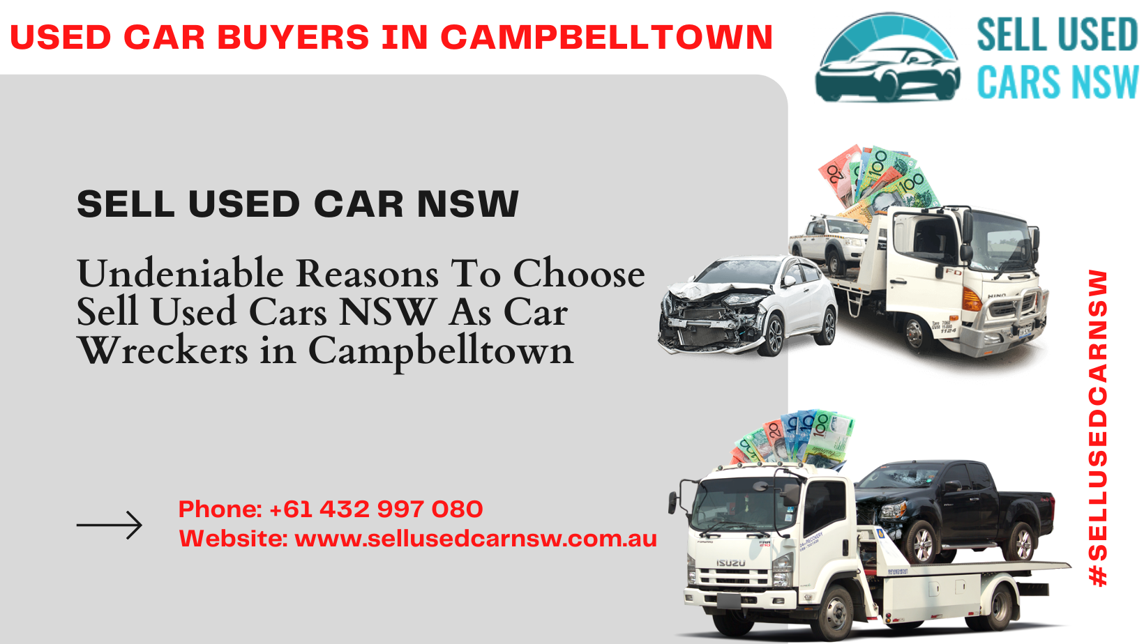 Undeniable Reasons To Choose Sell Used Cars NSW As Car Wreckers in Campbelltown
