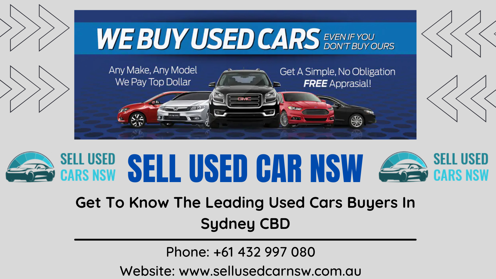 Get To Know The Leading Used Cars Buyers In Sydney CBD
