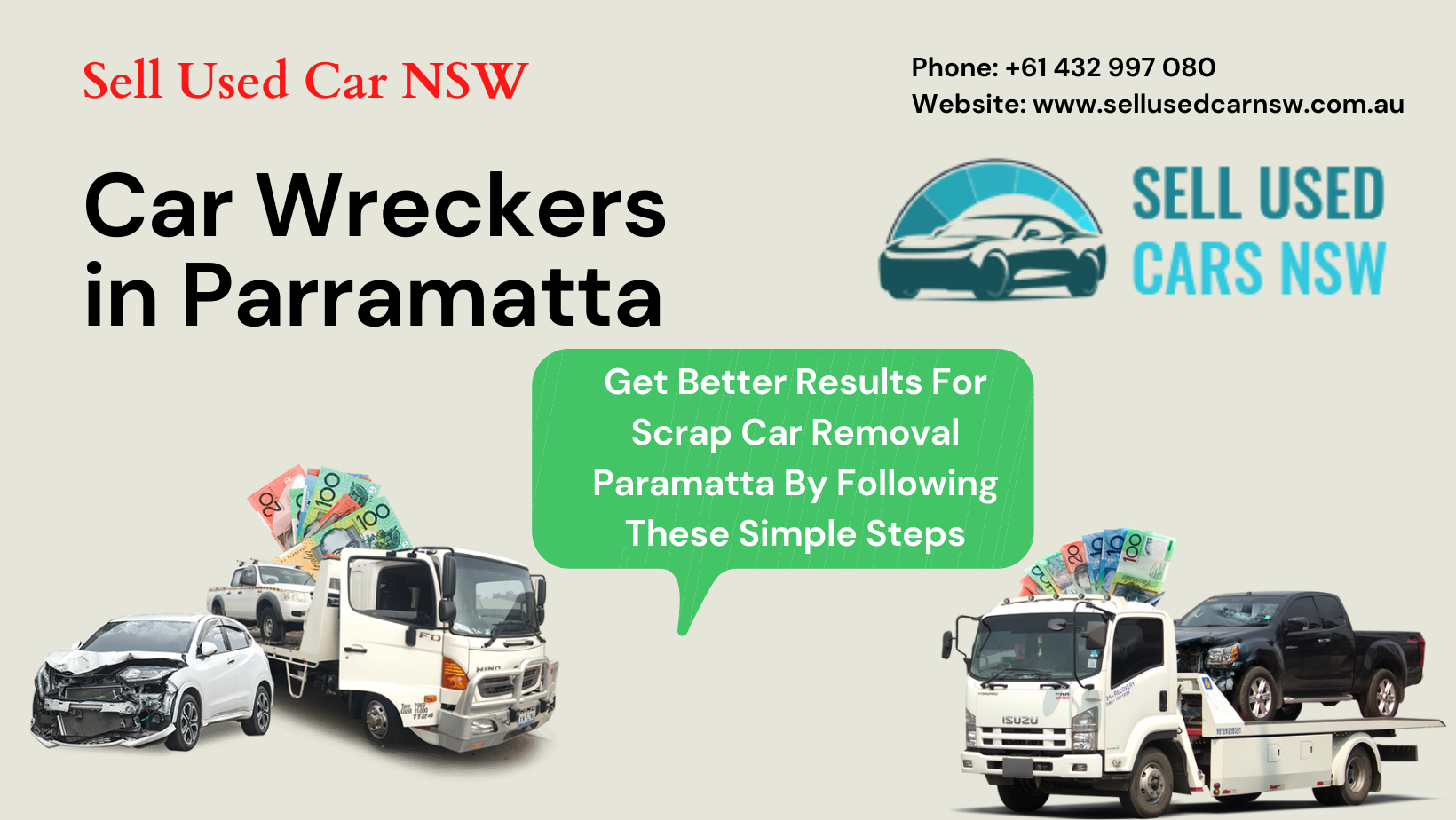 Get Better Results For Scrap Car Removal Paramatta By Following These Simple Steps